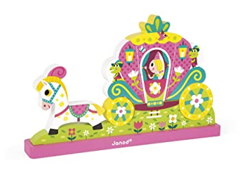 Janod Magnetic Princess Puzzle