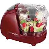 Kenwood CH181A Mini Chopper 300W Red 150 grams Chopping Capacity Dishwasher Safe