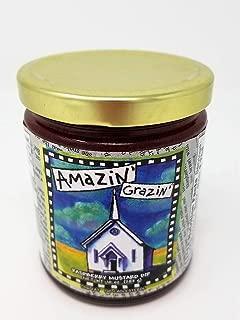 product image for Gullah Gourmet - Raspberry Mustard Dip - Amazin' Grazin' - 10 OZ Jar