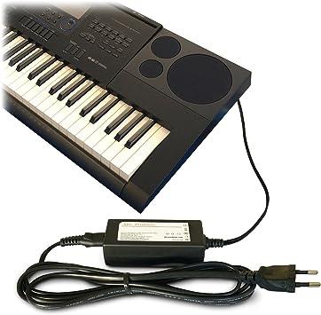 ABC products de Casio AC/DC fuente de alimentación, adaptador, de alimentación de 12 V/12 V (AD-A12150LW, AD-A12150) para Casio teclado/Piano ...