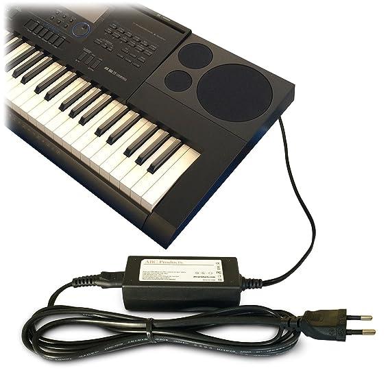 ... 12V Adaptador Adaptador Fuente de alimentación / Adaptador de corriente AD-A12150LW, AD-A12150, Privia Pro para Casio Teclado electrónico / Keyboards ...