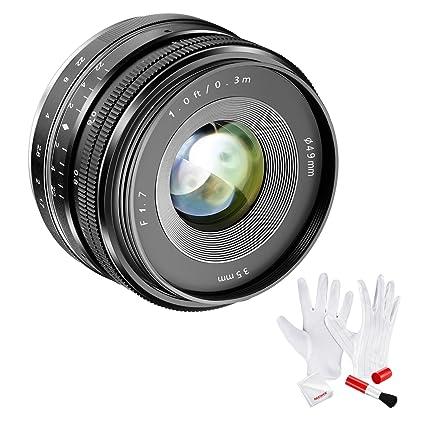 amazon com neewer aps c 35mm f 1 7 manual fixed lens with cleaning rh amazon com sony nex 3 manual mode sony nex c3 manual