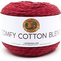 Lion Brand Yarn 756-718 Company Hilo Mai Tai, Poppy, 1, 1