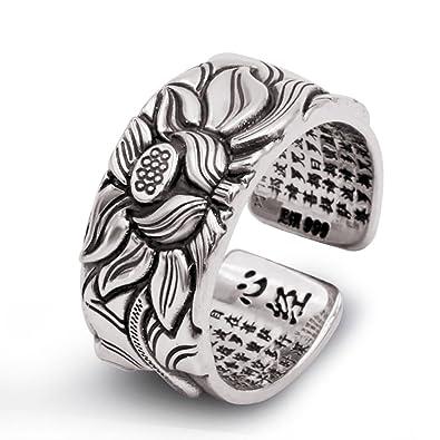 Adisaer Ring Silber Vintagering Frauen Vergoldet 925 Sterling Damen