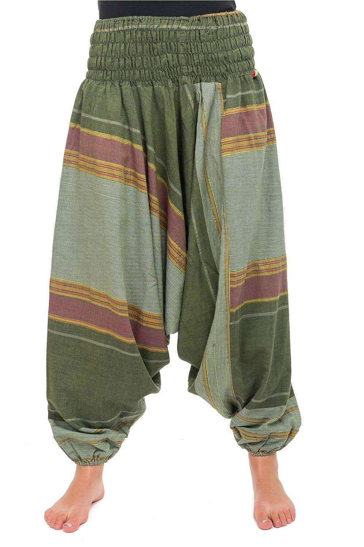 - Pantalon sarouel vert sari -