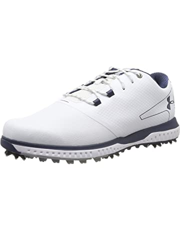 f0f2d2307a Under Armour Fade RST 2 E Men's Golf Shoes, White/Steel/Academy 100