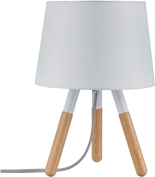 Paulmann 79646 Neordic Berit - Lámpara de mesa (máx. Lámpara de ...