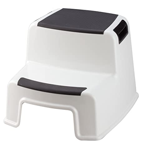 Two Tier Stepping Stool by Miles Kimball  sc 1 st  Amazon.com & Amazon.com: Two Tier Stepping Stool by Miles Kimball: Home Improvement islam-shia.org