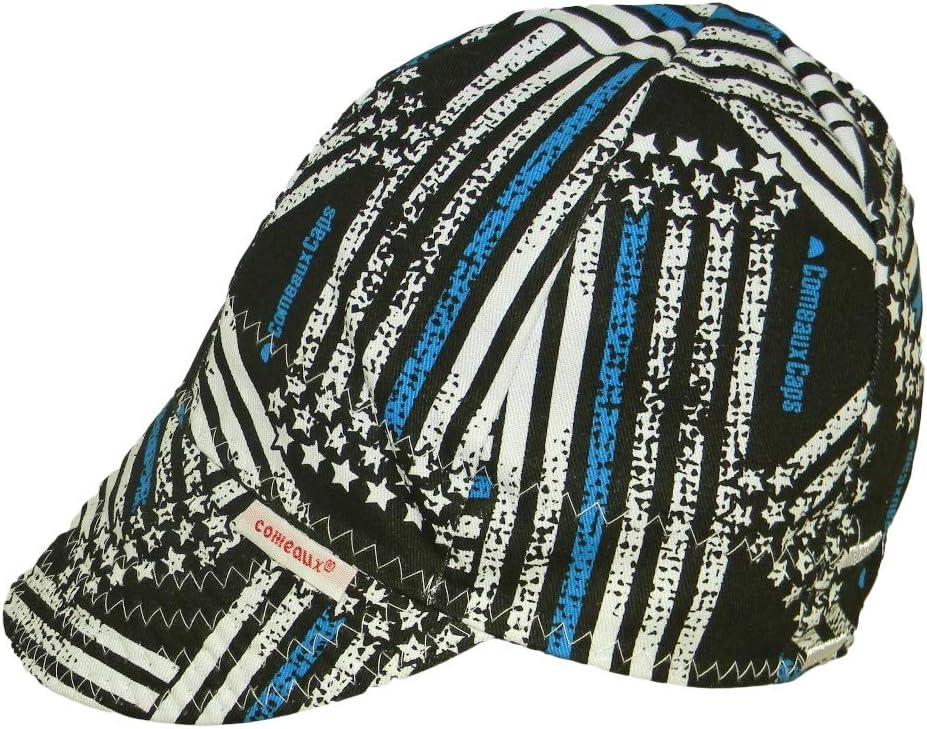 Size 7 1//8 Miller 230542 HeadThreads Welding Cap Ghost Skulls