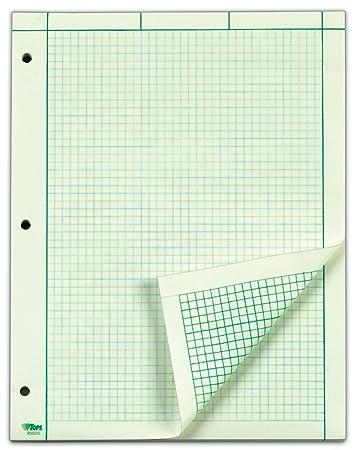 Workbook free printable graph worksheets : Amazon.com : TOPS Engineering Computation Pad, 200 Sheets (35502 ...