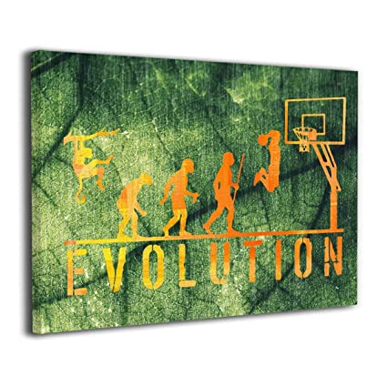 Beau Houstonman Evolution Basketball Player Golden Canvas Paintings Wall  Decorations Printed For Bedroom Living Room Kitchen 20