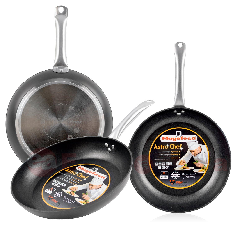 Magefesa Astro Chef Set Juego 3 Sartenes 20-24-28 cm Aluminio ...