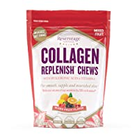 Reserveage, Collagen Replenish Chews, Skin and Nail Supplement, Supports Collagen...
