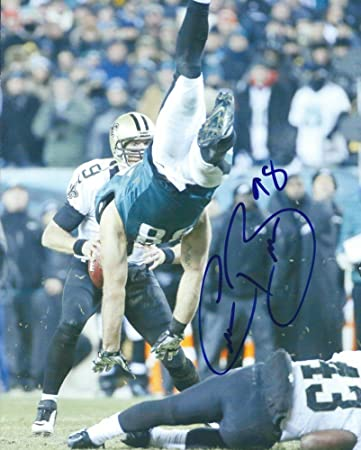 ccc3509a12d Signed Connor Barwin 8x10 Photo Philadelphia Eagles - Certified Autograph