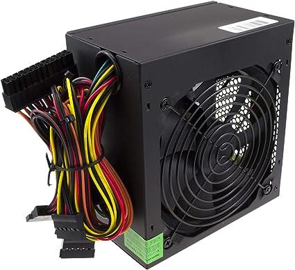 kenable 500W PC Caja Torre ATX Energía Suministrar Unidad PSU con PFC Protección: Amazon.es: Electrónica