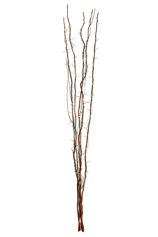 premier housewares twigs with 80 lights 120 cm