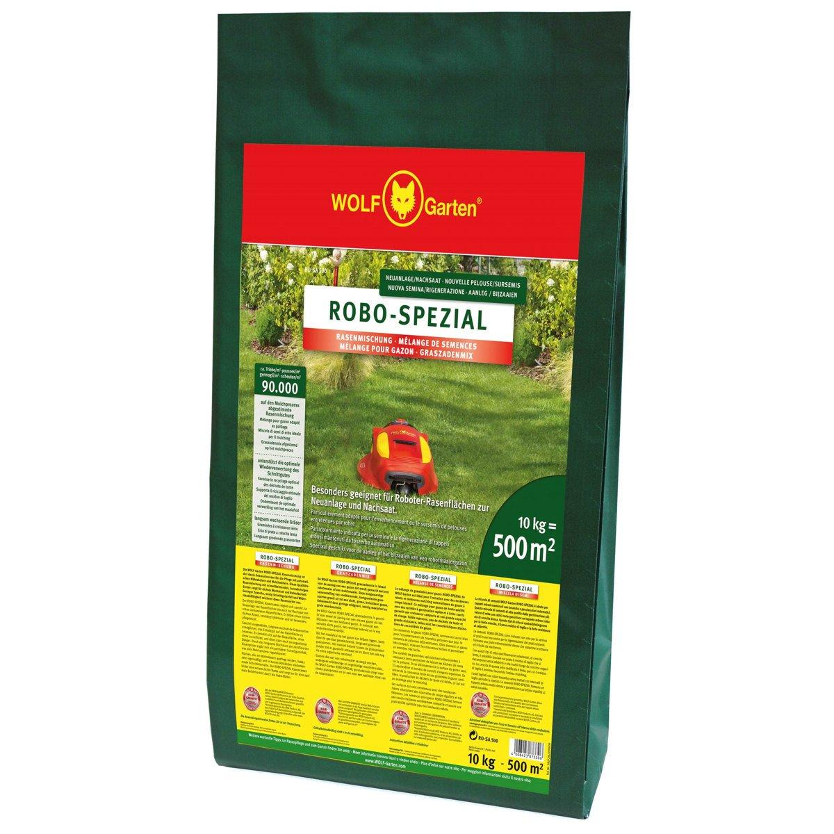 WOLF-Garten ROBO-Spezial-Rasensamen 10kg für 500qm RO-SA 500