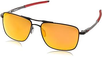 Oakley Gauge 6 Prizm Ruby Polarized Sonnenbrille Schwarz z50Bdx