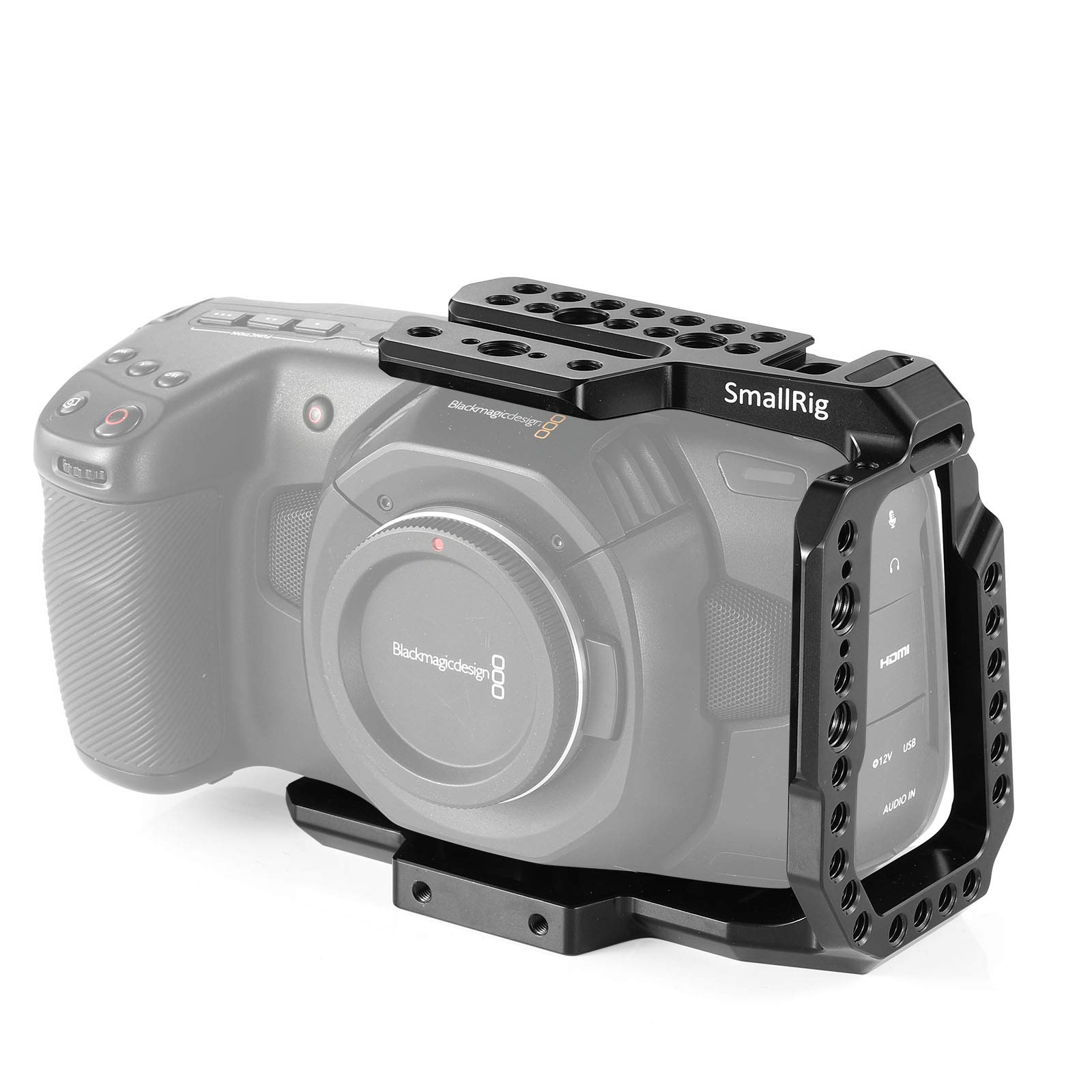 Smallrig 2254 Bmpcc 4k Half Cage Compatible Con Blackmagic