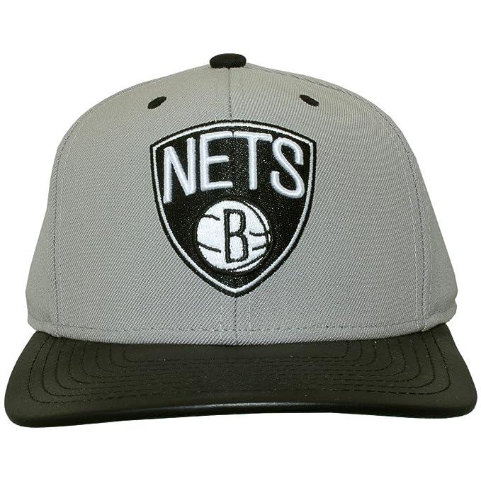 Gorra Mitchell & Ness – Nba Colt Brooklyn Nets Gris/Negro Osfa ...