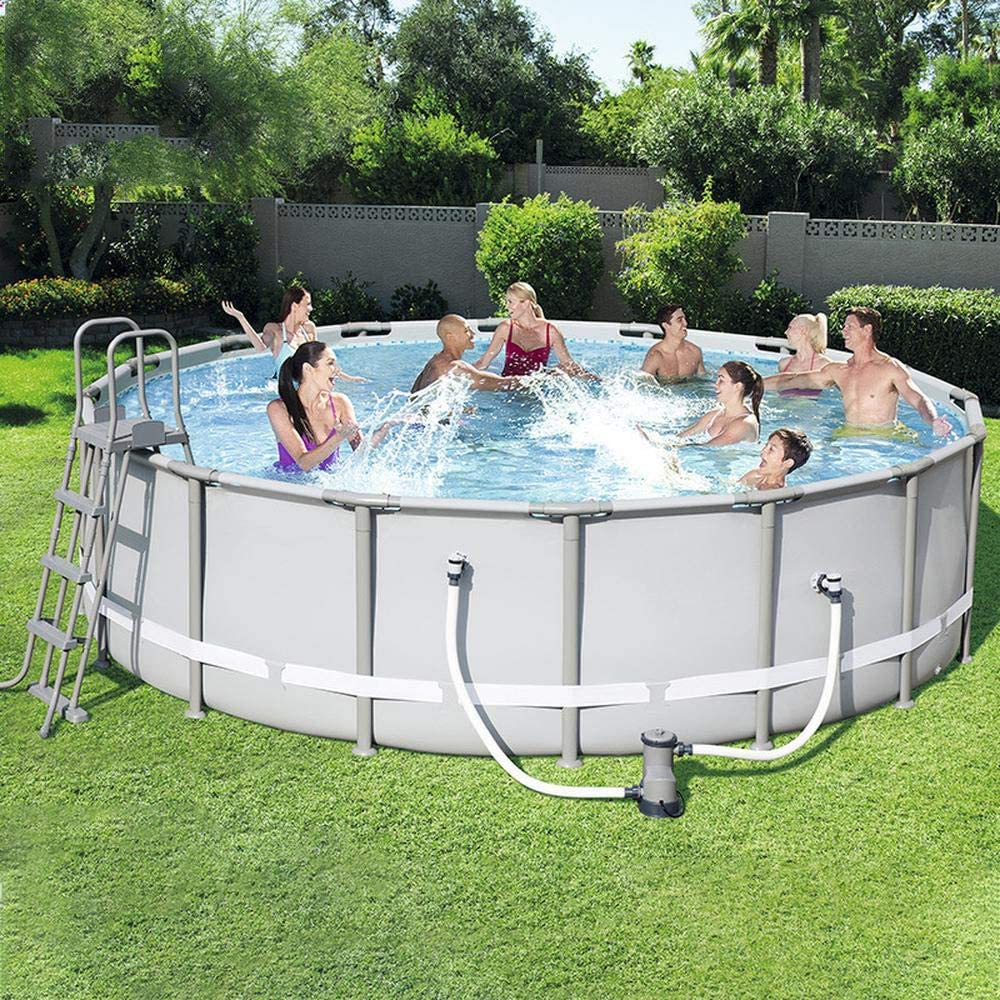 Frame Pools Swimming Pool Blow Up Pool For Family Kids Backyard Foldable Pool Family Time Garden Swimming Pool Sports Outdoors