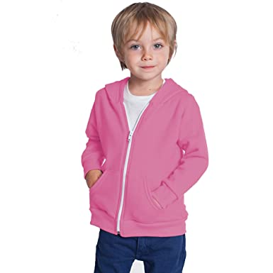 f5fe728c03 Kids Unisex Plain Fleece Hoodie Hoody Hoodies Girls Boys Sweatshirt Zipper  Years 3-13 (