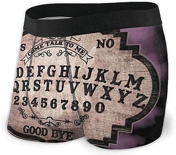 Web--ster Calzoncillos Boxer para Hombre Shorts Ouija Board