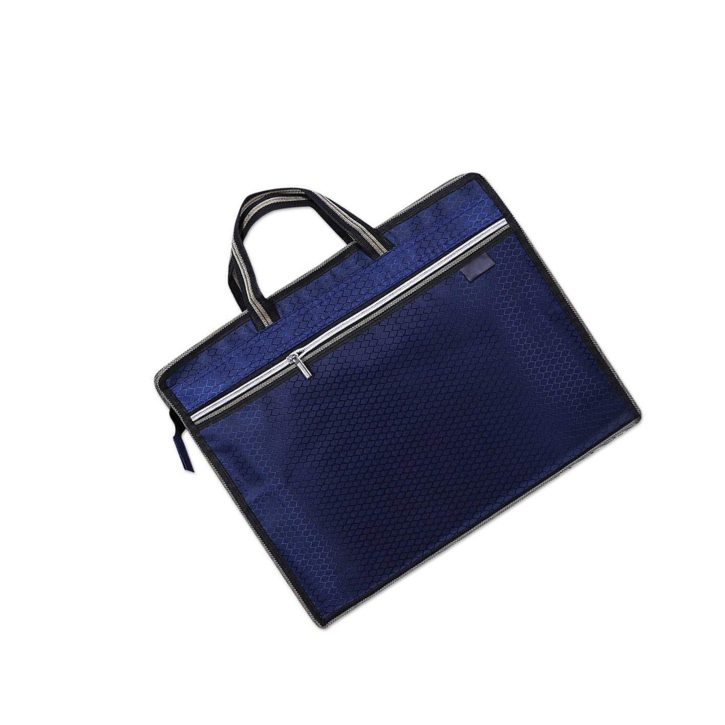 LuLyL 1 PC Hexagonal Notebook Sacoche Messenger Sacoche Portefeuille Organiseur pour Business Voyage Bleu