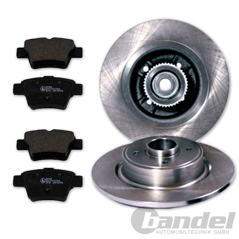2 de freno 249 mm con rodamiento de rueda/ABS de anillo + bremsbrems blando trasera: Amazon.es: Coche y moto