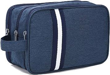 Bolsas de Aseo Hombre y Mujer, Boic Neceser de Viaje Maquillaje impermeabile Organizador de Bolso Cosmético, Travel Toiletry Bag (Azul): Amazon.es: Equipaje