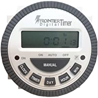 Frontier TM619H2 Digital Timer Programmable Time Switch with LCD 4 Pin (Pack of 1)