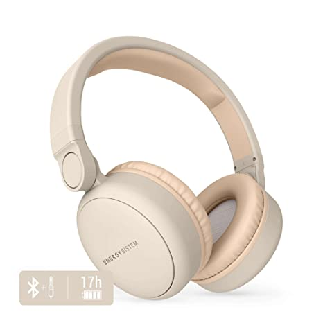 Energy Sistem Headphones 2 - Auriculares con Bluetooth (Over-Ear, Audio-In