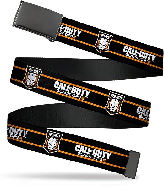 Buckle-Down Boys Web Belt Call of Duty Black Ops Iii 1.25