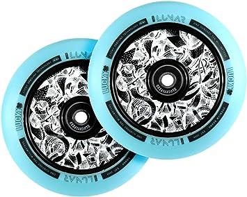 Lucky Lunar 110mm Rueda Scooter Black//Black