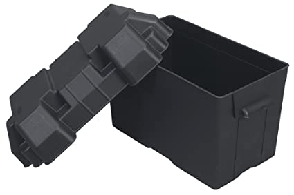 Duracell Marine Battery >> Amazon Com Moeller Injection Molded Marine Battery Box One 27 30