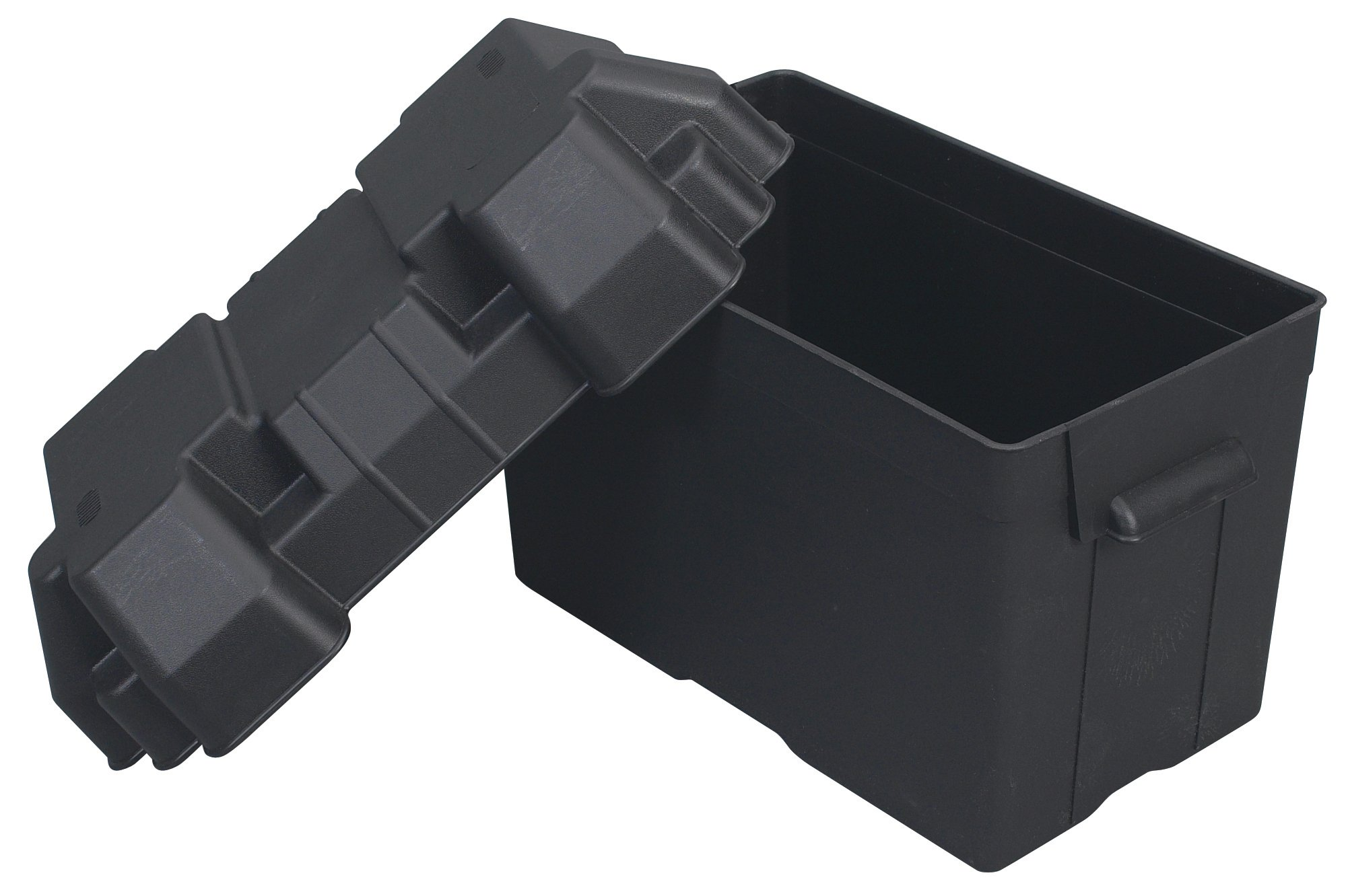 Moeller Injection-Molded Marine Battery Box (One 27, 30 or 31-Series Battery, 13.44'' x 7.75'' x 10.5'') by Moeller Marine