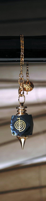 Radi/ästhesie im Intramedial Shop ca 4,0 cm ca L Reiki-Pendel auf Onyx B 2,0 cm Choku Rei - Schutz 22,4 g ca