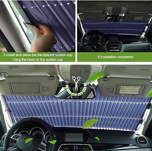 Parasole Pieghevole e Portabile Protettore Contro i Raggi UV Class-Z Parasole Auto Parabrezza Anteriore