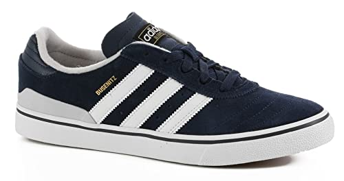 sale retailer fe191 ba904 Adidas Busenitz Vulc Adv Collegiate Navy Light Heather Solid Grey Running  White 9.5uk