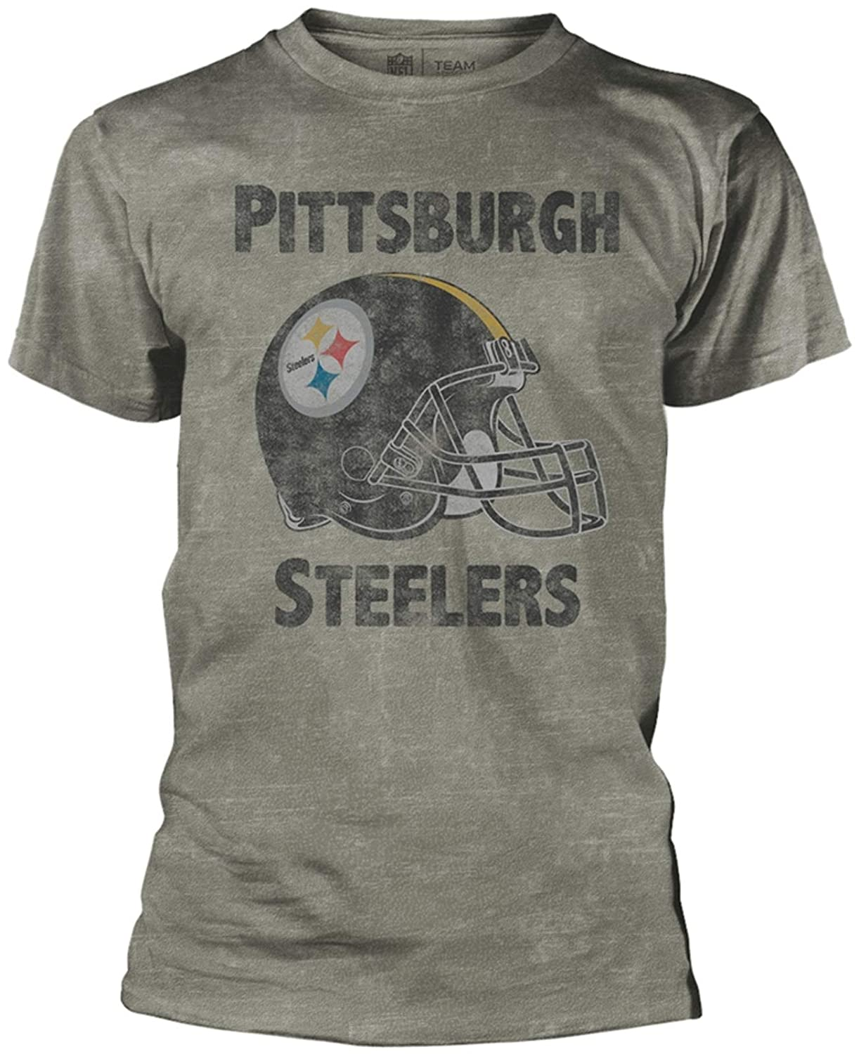NFL - Pittsburgh Steelers Burnout T-Shirt Official Merchandise