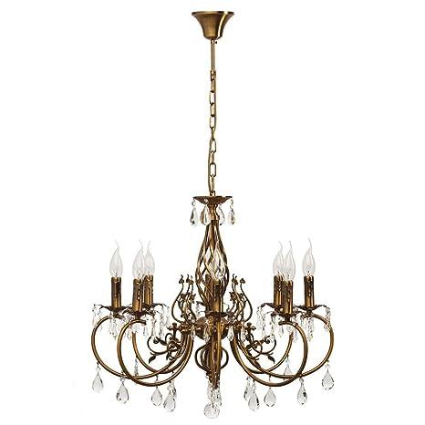 Lámpara de techo, lámpara de araña, estilo clásico ...