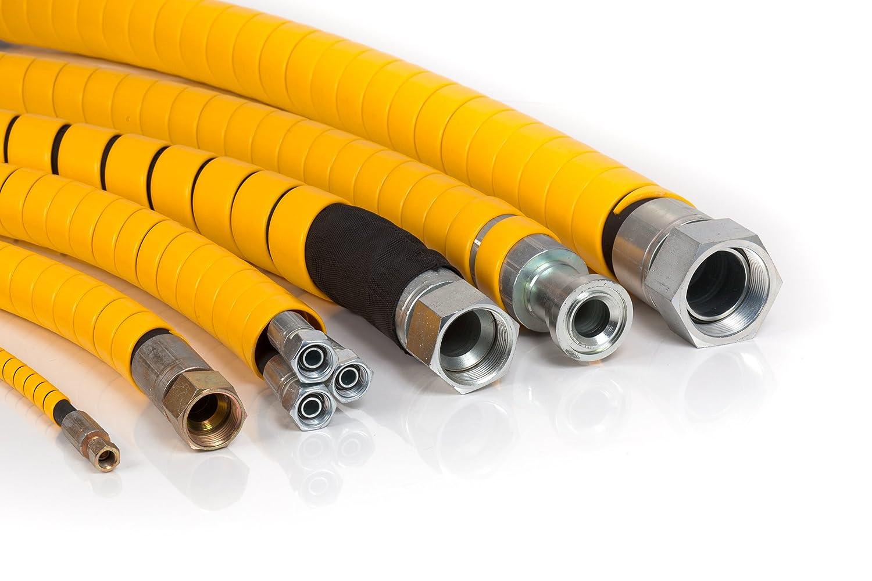 Spiral Hose Wrap Hose Cable Hose Ø 6,00mm to 60mm Natural-Pack = 10m