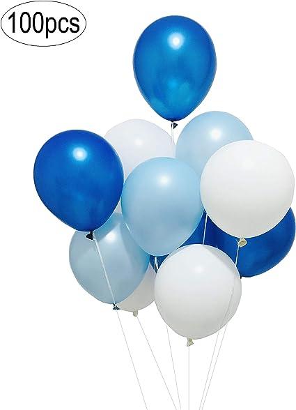 "10 x 11/"" Blue Balloons /""Christening/"""
