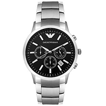 newest collection ac157 74bff エンポリオ アルマーニ EMPORIO ARMANI クロノ クオーツ メンズ 腕時計 AR2434 [並行輸入品]