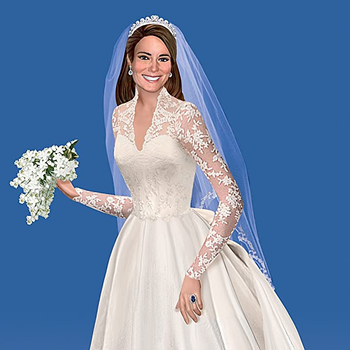 Amazon.com: Catherine, The Royal Bride Figurine by The Hamilton ...