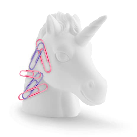 white mustard amazoncom mustard magnetic paperclip holder white unicorn