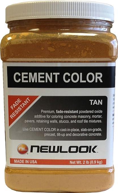 CEMENT COLOR 2 lb. Tan Fade Resistant Cement Color - Wall Surface ...