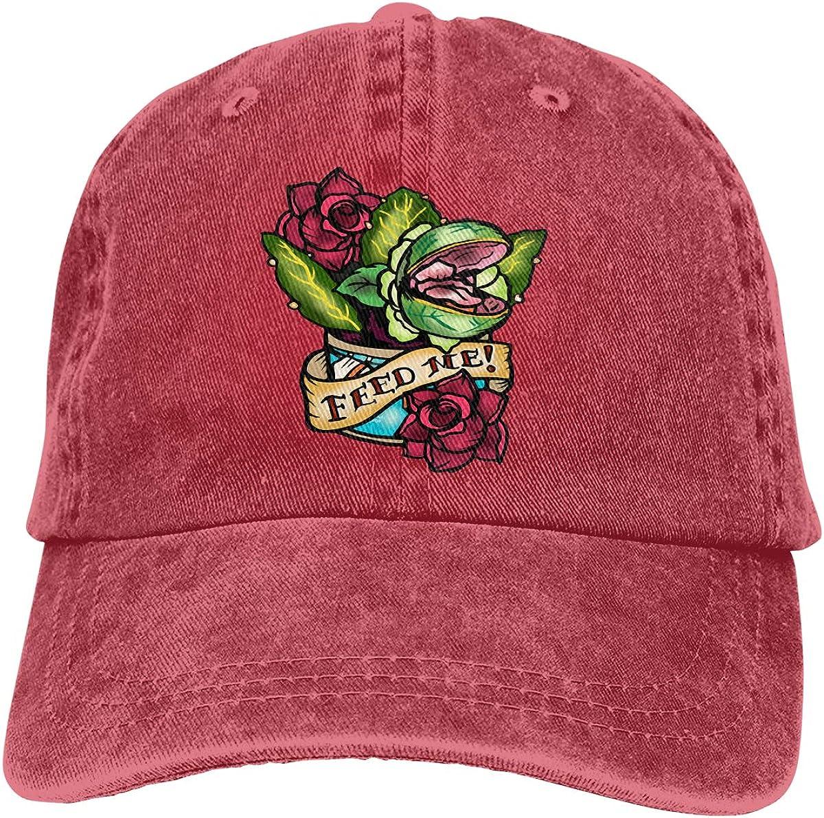 Q89 Feed ME Adult Trendy Cowboy Hat Hip Hop Cap Adjustable Baseball Cap