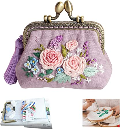 DIY Kit-bag for embroidery with beads two owls Size: 190x110 mm 7.4\u00d74.3 GIFT