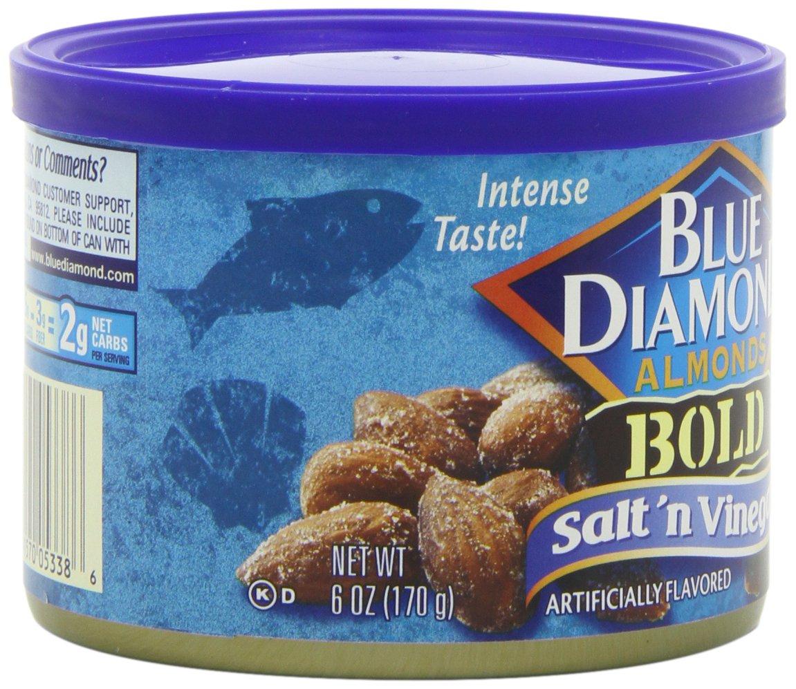 Blue Diamond Almonds, Bold Salt & Vinegar, 6 Ounce (Pack of 12) by Blue Diamond Almonds (Image #8)